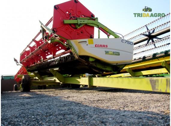 жатка зернова Claas С750 (2008)