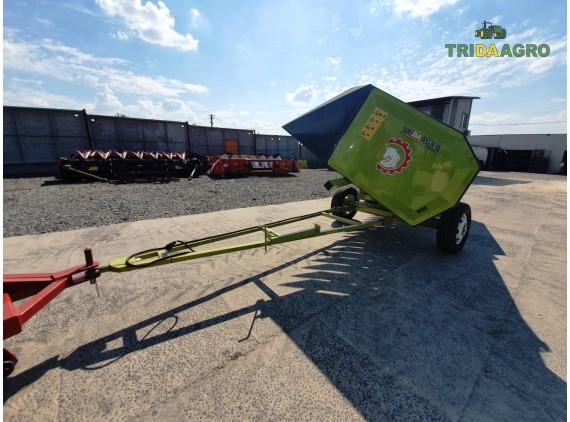 Візок Tridaagro Sargan D2P 9 метрів (2020)