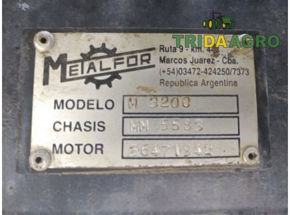 Самоходный опрыскиватель Metalfor Multiple 3200  (2014)