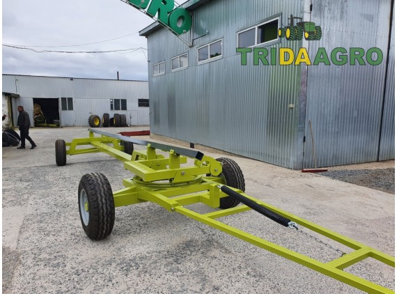 Тележка Tridaagro Sargan D2P под New Holland