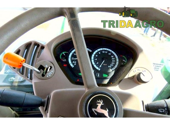 Трактор John Deere 6210 R (2013)